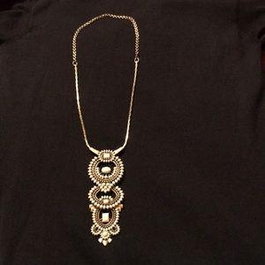 StellaDot 3 in 1 Havana Pendant Necklace